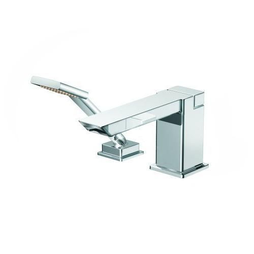 Moen TS9041 90 Degree High Arc Roman Tub Faucet Includes Hand Shower ...