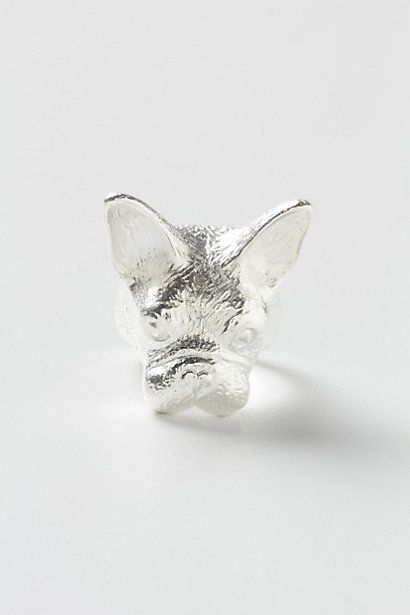 frenchie ring @Amy Bjork from anthropologie