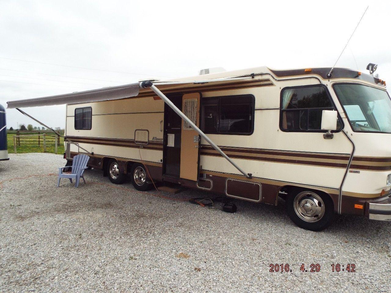 400 best vintage motorhomes images on pinterest rv campers 1985 monaco bus motorhome rv camper van publicscrutiny Choice Image