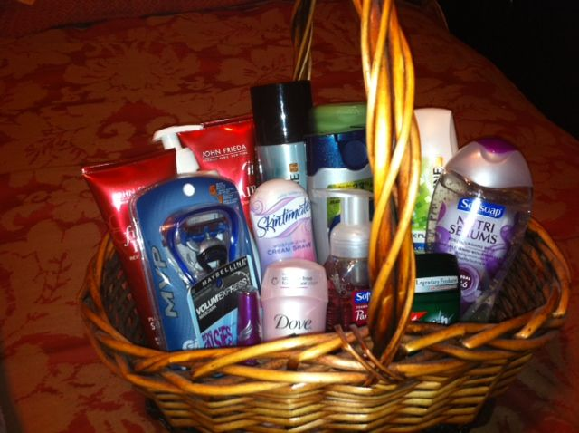 Great Gift Idea Full Of Toiletries Toiletry Gifts Holiday Gift Baskets Christmas Gift Basket