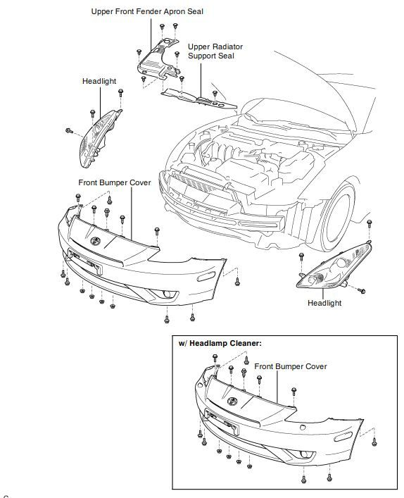 Pin By Procarmanuals On Toyota Celica Avalon Headlight Diagram: How To Remove Fuse Box From Celica Gt At Johnprice.co