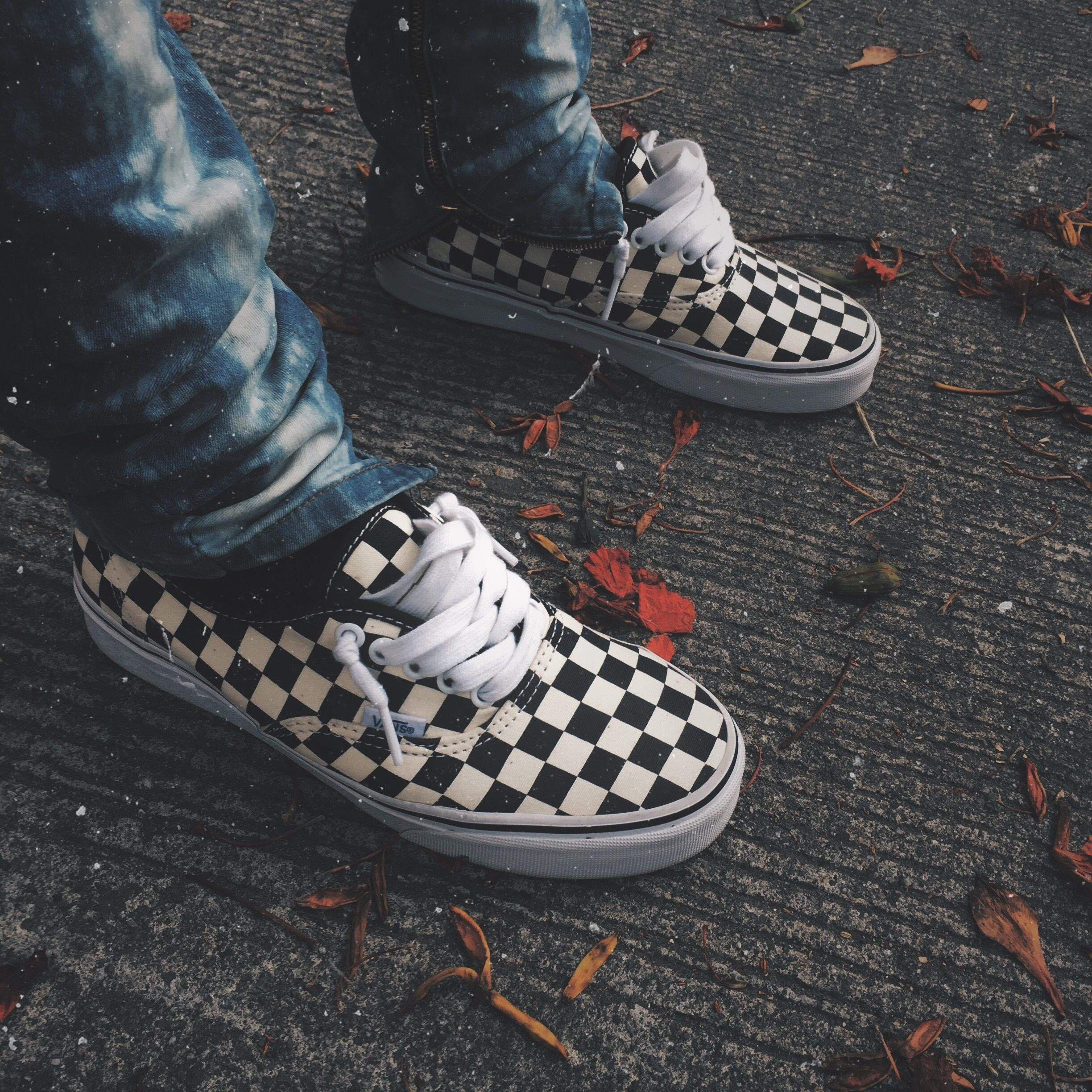 Vans Authentic Golden Coast Checkerboard Vans Checkerboard