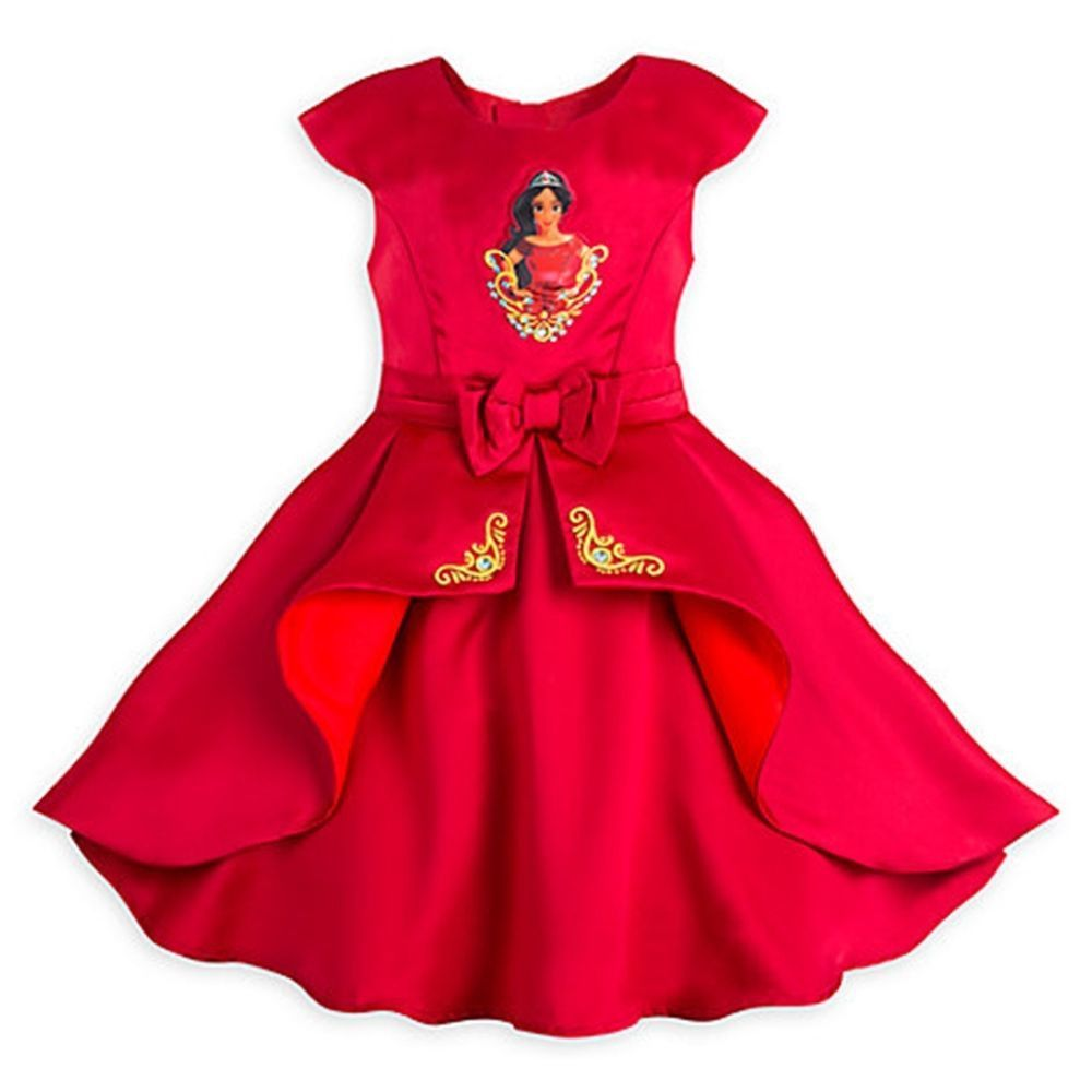 Disney Store Elena Of Avalor Party Dress For Girls Size:3