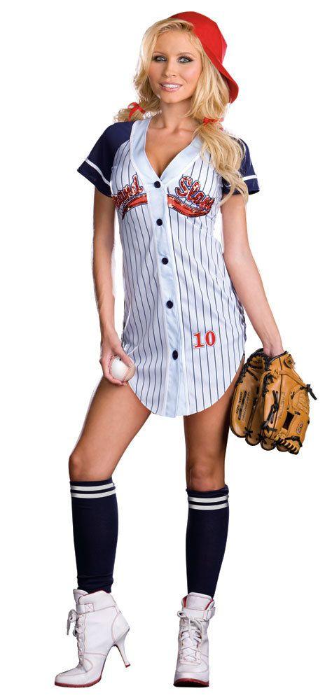 Grandslam Sexy Baseball Costume - Mr Costumes Apartment - hot halloween ideas