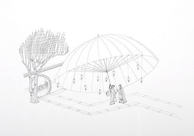 Michael Whittle, 'Bao Yu and Lin Daiyu under large umbrella', 2009, 39.4 x 50.9cm, pen and ink on paper by Man, via Flickr #largeumbrella Michael Whittle, 'Bao Yu and Lin Daiyu under large umbrella', 2009, 39.4 x 50.9cm, pen and ink on paper by Man, via Flickr #largeumbrella Michael Whittle, 'Bao Yu and Lin Daiyu under large umbrella', 2009, 39.4 x 50.9cm, pen and ink on paper by Man, via Flickr #largeumbrella Michael Whittle, 'Bao Yu and Lin Daiyu under large umbrella', 2009, 39.4 x 50.9cm, pen #largeumbrella