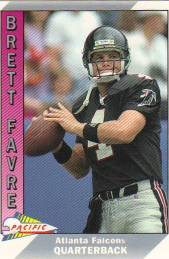 2 Qb 1991 Brett Favre Pacific Rookie Card Footballl Dream