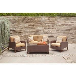 Brown Jordan Marquis Patio Loveseat Dy12110 Lv At The Home Depot