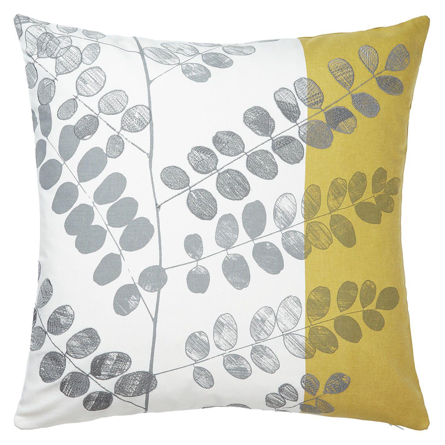 John Lewis Malin Cushion Grey sofa living room, Teal