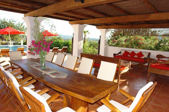 Imagenes de casas por dentro ibicencas buscar con google for Terrazas ibicencas