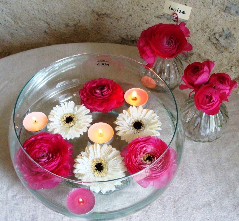 d coration florale de table de table de mariage fleurs et bougie vase pour deco de. Black Bedroom Furniture Sets. Home Design Ideas