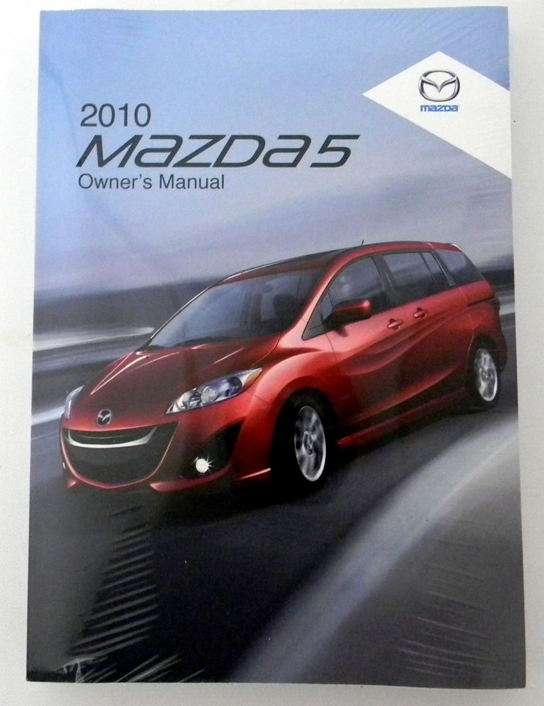 2010 Mazda 5 Owners Manual Parts Service New Original Car Automobile Owners Manuals Mazda Car