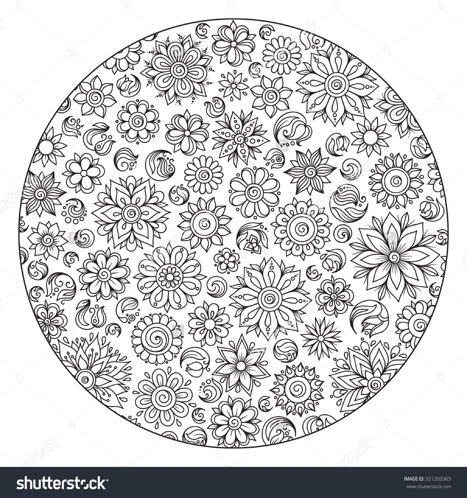 nature mandalas coloring pages - Google Search | Coloring pages ...