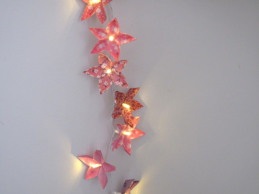 origami guirlande origami pinterest origami. Black Bedroom Furniture Sets. Home Design Ideas