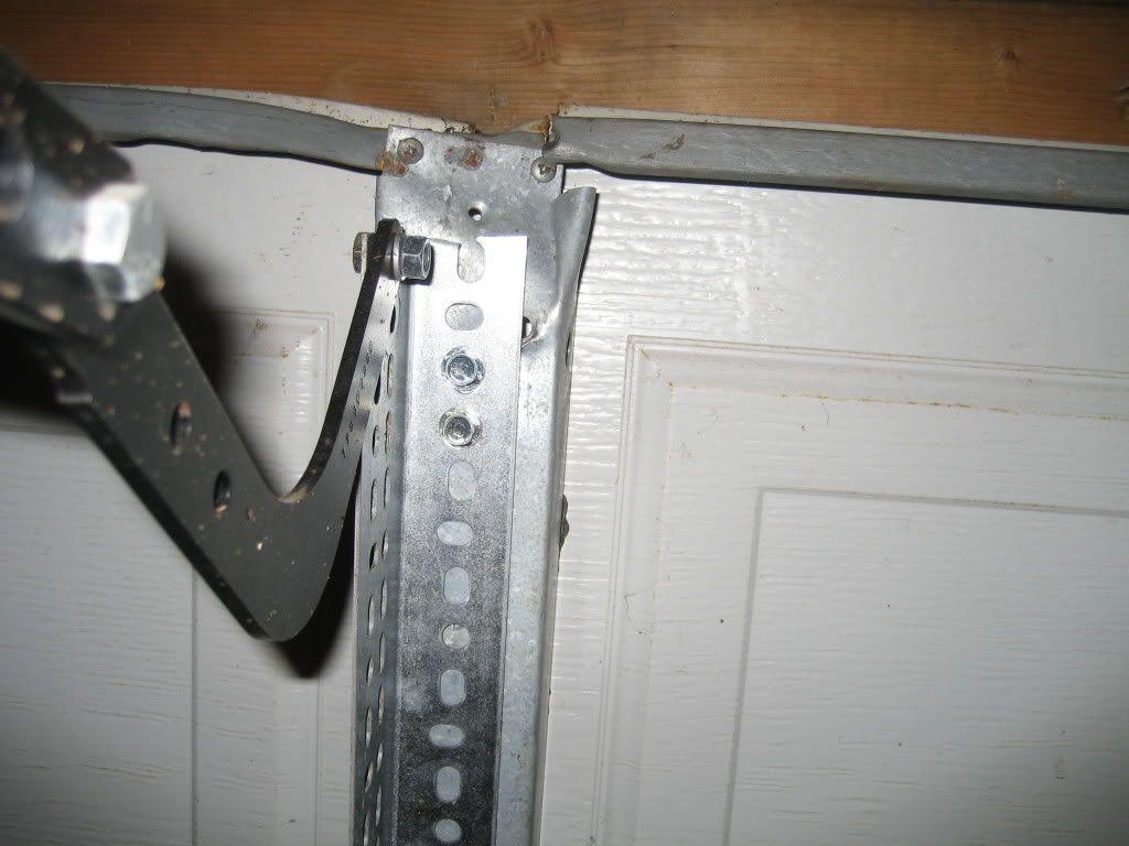 Horizontal Garage Door Reinforcement Garage Doors Garage Door Opener Door Reinforcement