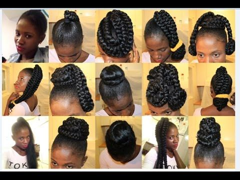 20 Super Quick And Easy Hairstyles For Work Natural Hair 4abc Youtube Stylish Hair Natural Hair Styles Hair Styles