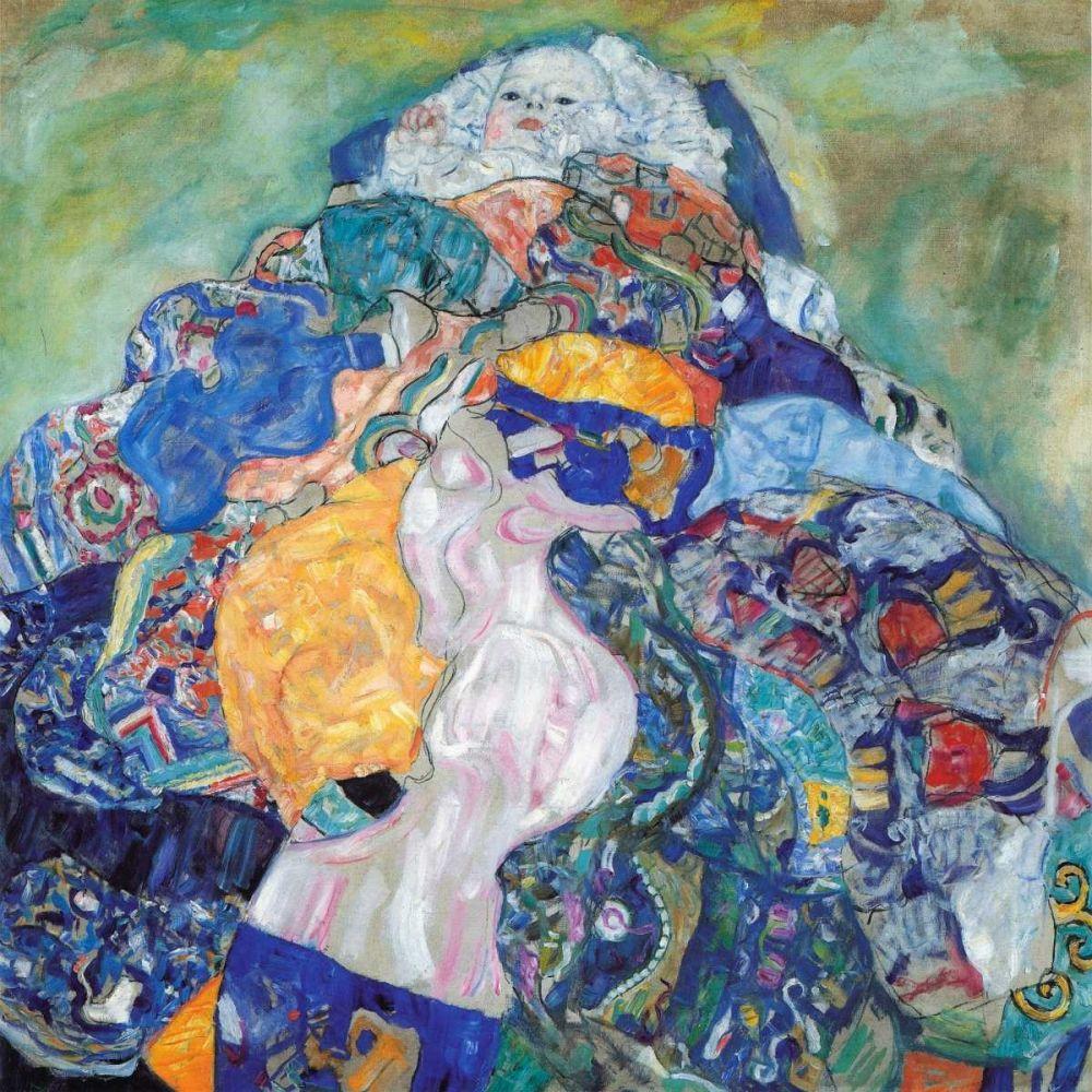 Kunstdruck In Wunschgrosse Von Klimt Gustav Baby 1917 Klimt Kunst Ideen Gustav Klimt