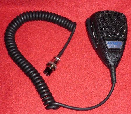Astatic 575m 6 Cb Radio Cb Microphone Ham Radio