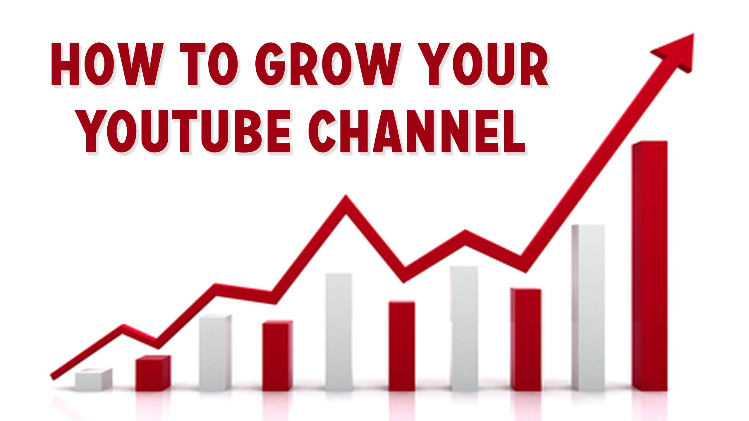 5 tips to grow your youtube channel get more subscribers