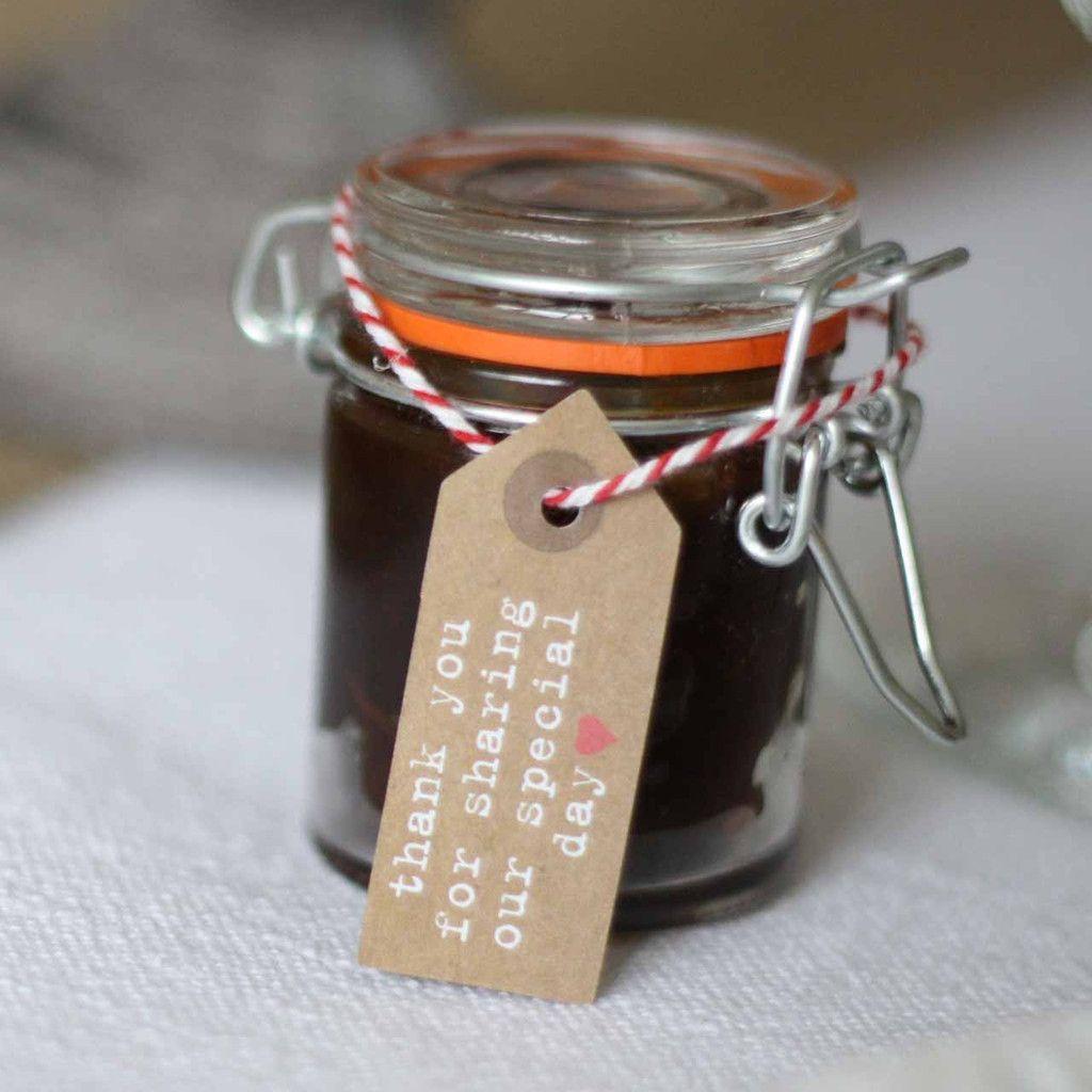 Mini Glass Jar For Jam Chutney Wedding Favours Favors Weddings