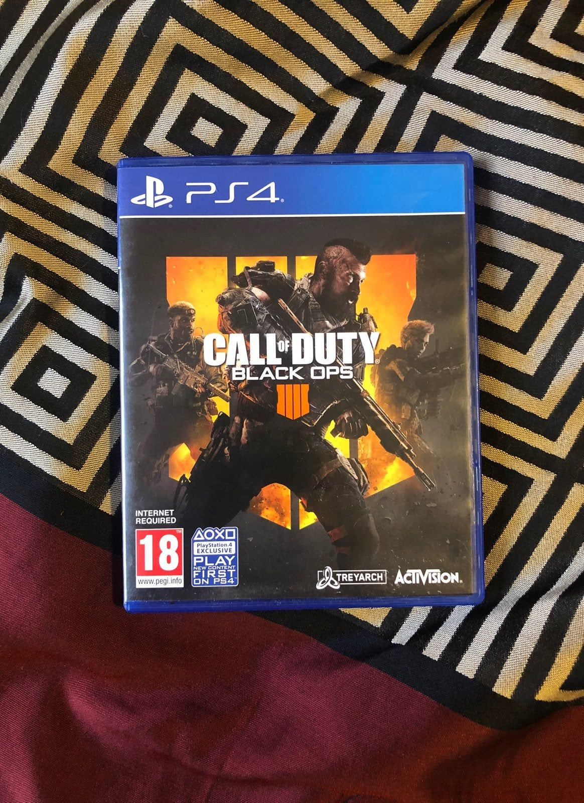 Call Of Duty Black Ops 4 For Sale Like New Never Been Played
