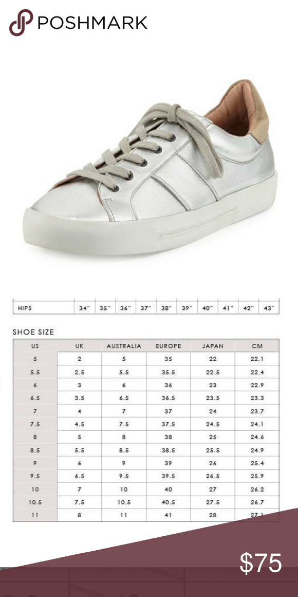 Joie silver dakota sneakers eu in excellent condition maybe worn once or twice also my posh picks pinterest rh