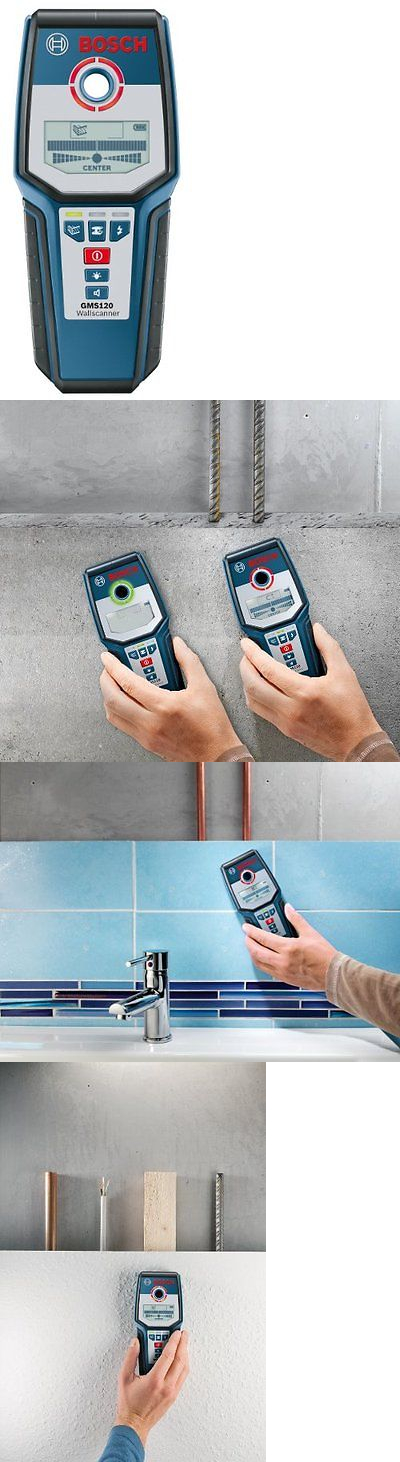 Bosch GMS120 Digital Wall Multi Scanner Stud Metal Detector