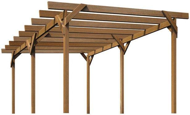 Pergola Brico Depot Structure Bois Modulo 15 M Brico Dpt 616 X 373 Pixels Structure Bois Construire Abri De Jardin Carport Bois