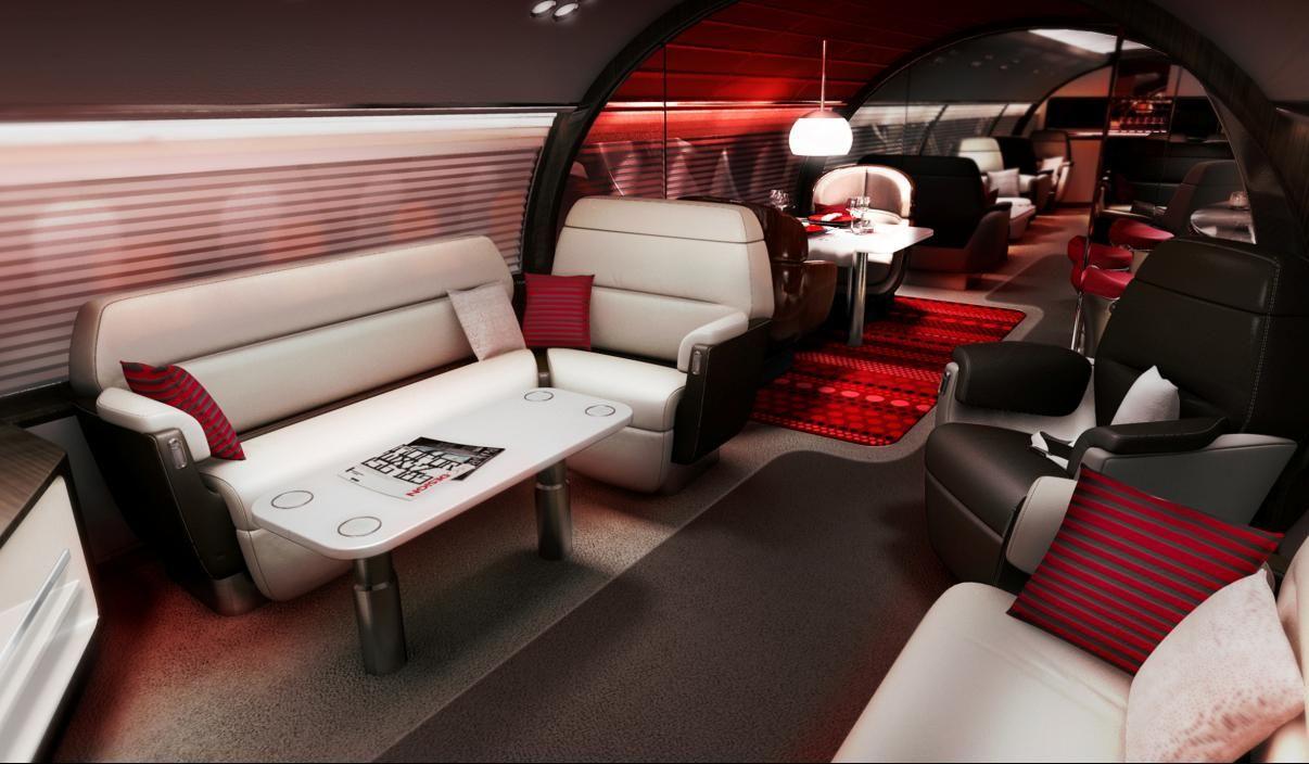 File embraer lineage 1000 interior forward cabin jpg wikimedia - Interiors