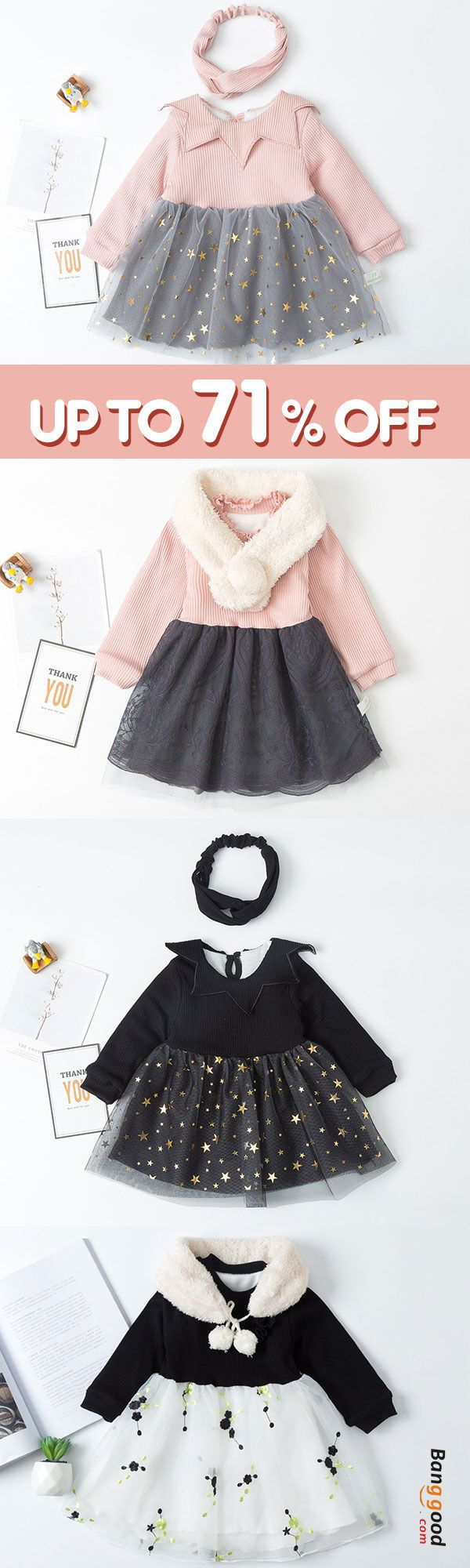 Girls Children Long Sleeve Dress -   18 school crafts show ideas