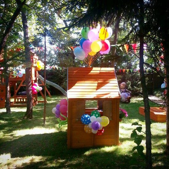 Декор детской игровой площадки