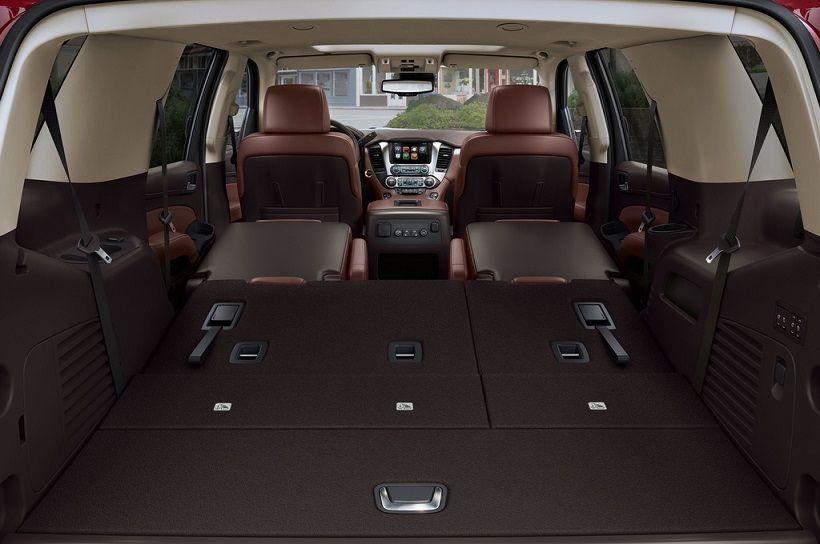 2016 Toyota Seqouia Vs 2016 Chevrolet Tahoe Chevrolet Tahoe Chevrolet Suburban Chevrolet Tahoe Interior