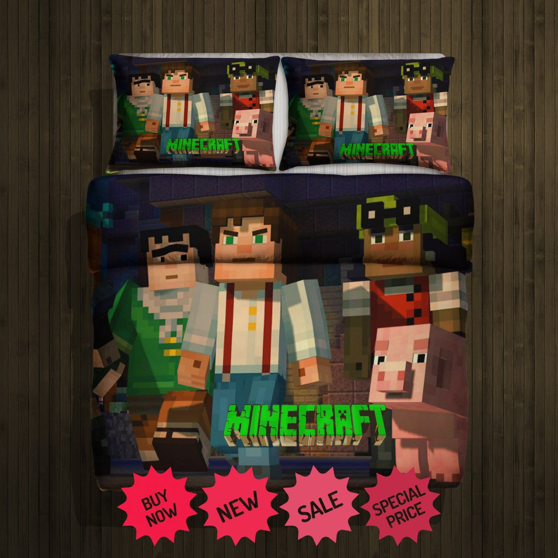 Minecraftnewblanketlargeupillowcases