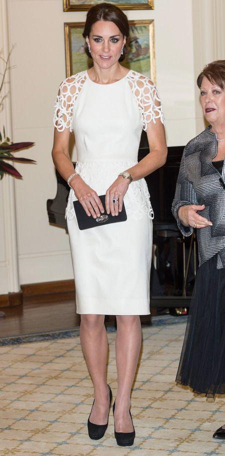 Kate middleton white dress australia