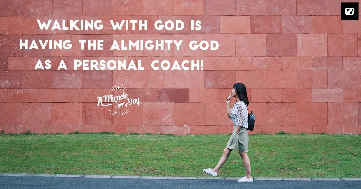 info for sale retailer detailed images Walking with God is having the Almighty God as a personal ...