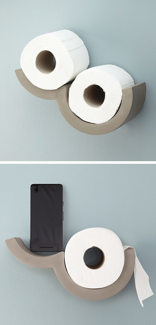 Cool Mini Cloud Toilet Paper Holder A Nice Modern Touch To The Bathroom I Love It Ad Cloud Toilet Paper Holder Toilet Paper Dispenser Toilet Paper Holder