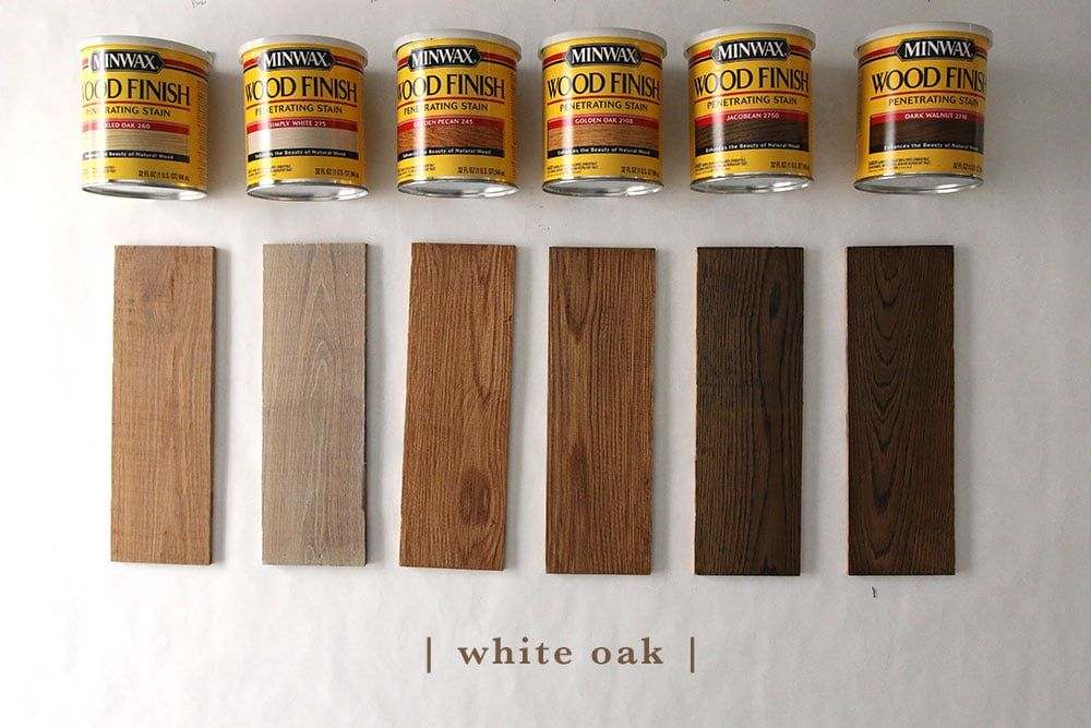 How 6 Different Stains Look On 5 Popular Types Of Wood To