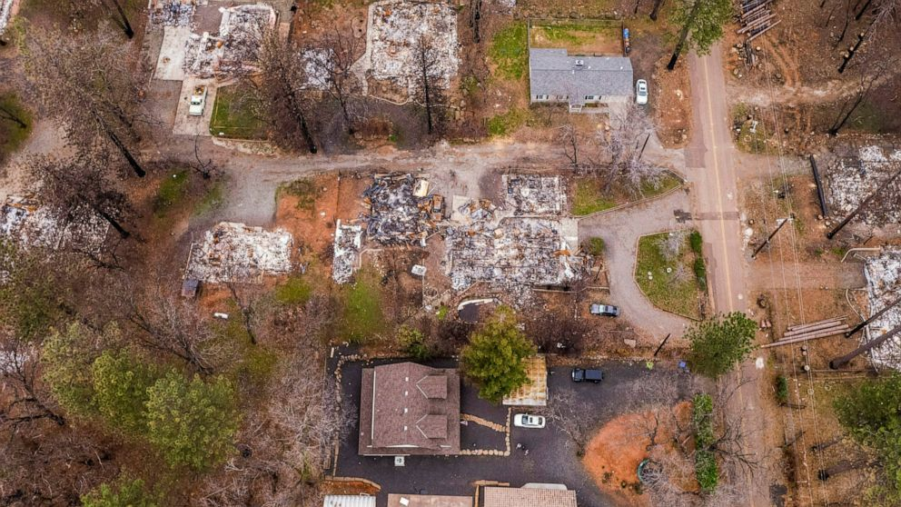 When will a house burn? It may depend