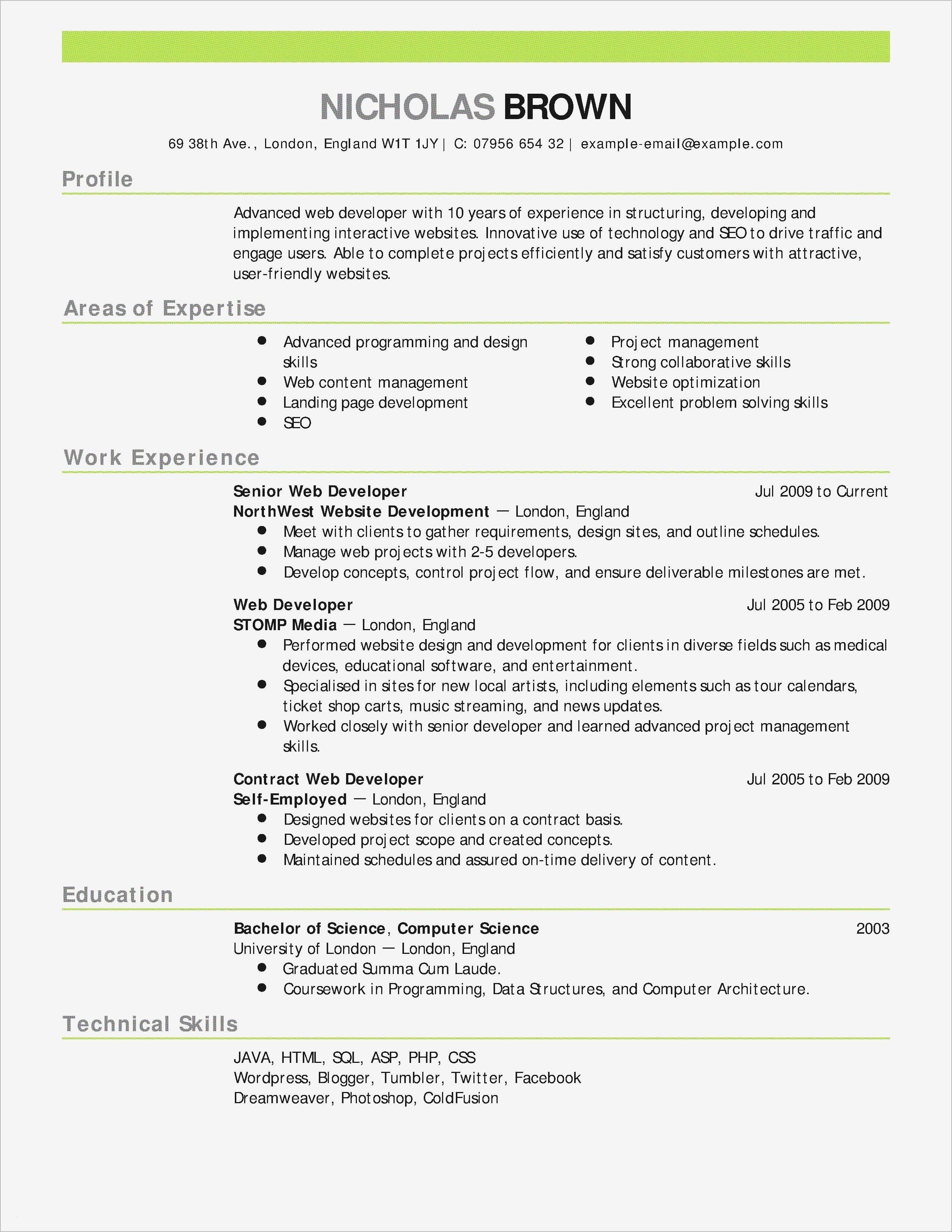 Junior Web Developer Resume Unique Junior Java Developer Resume