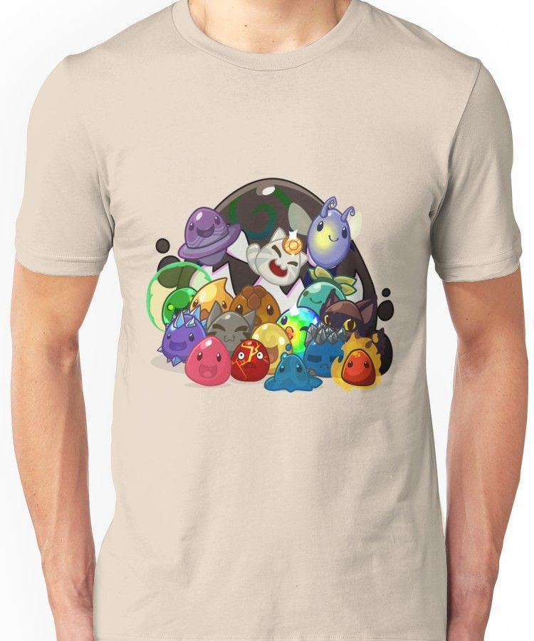 Slime Rancher   Slim Fit T-Shirt   Products   Shirts, Mens