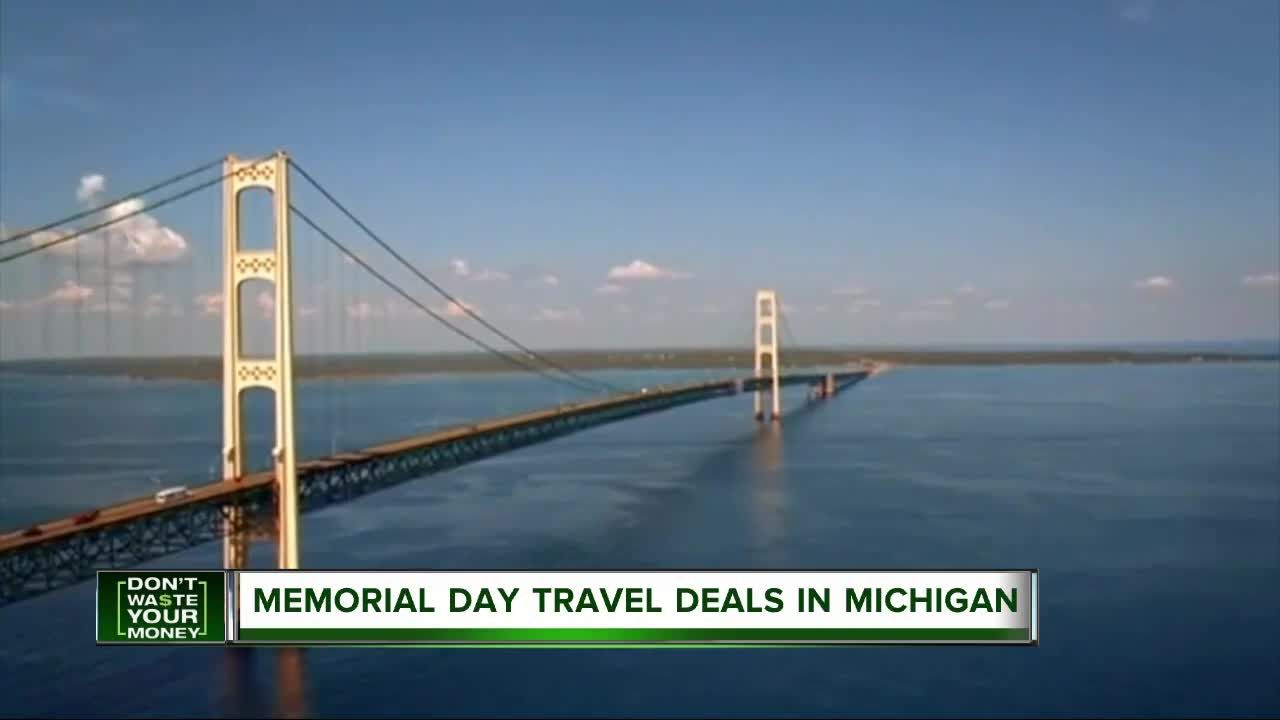 Places Offering The Best Memorial Day Weekend Travel Deals In Michigan Travel Deals Travel Weekend Trips