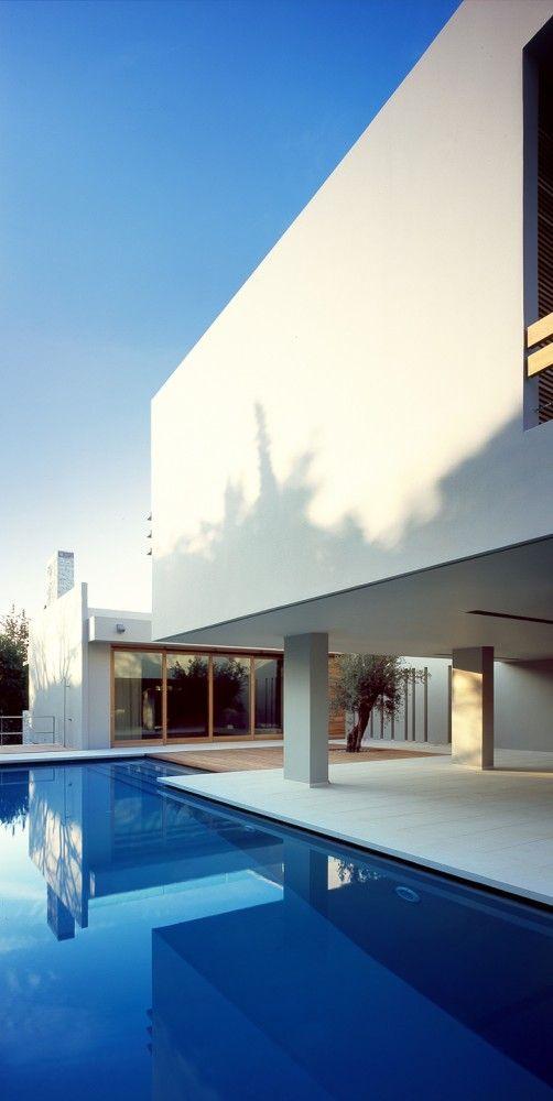 Villa isv architects also gallery of modern greek rh pinterest