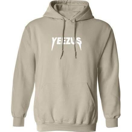Kanye West Yeezus Tour Unisex Ultra Soft Hoodie Sweatshirt Nude Beige Tan  Yeezy 8ce09ee600c