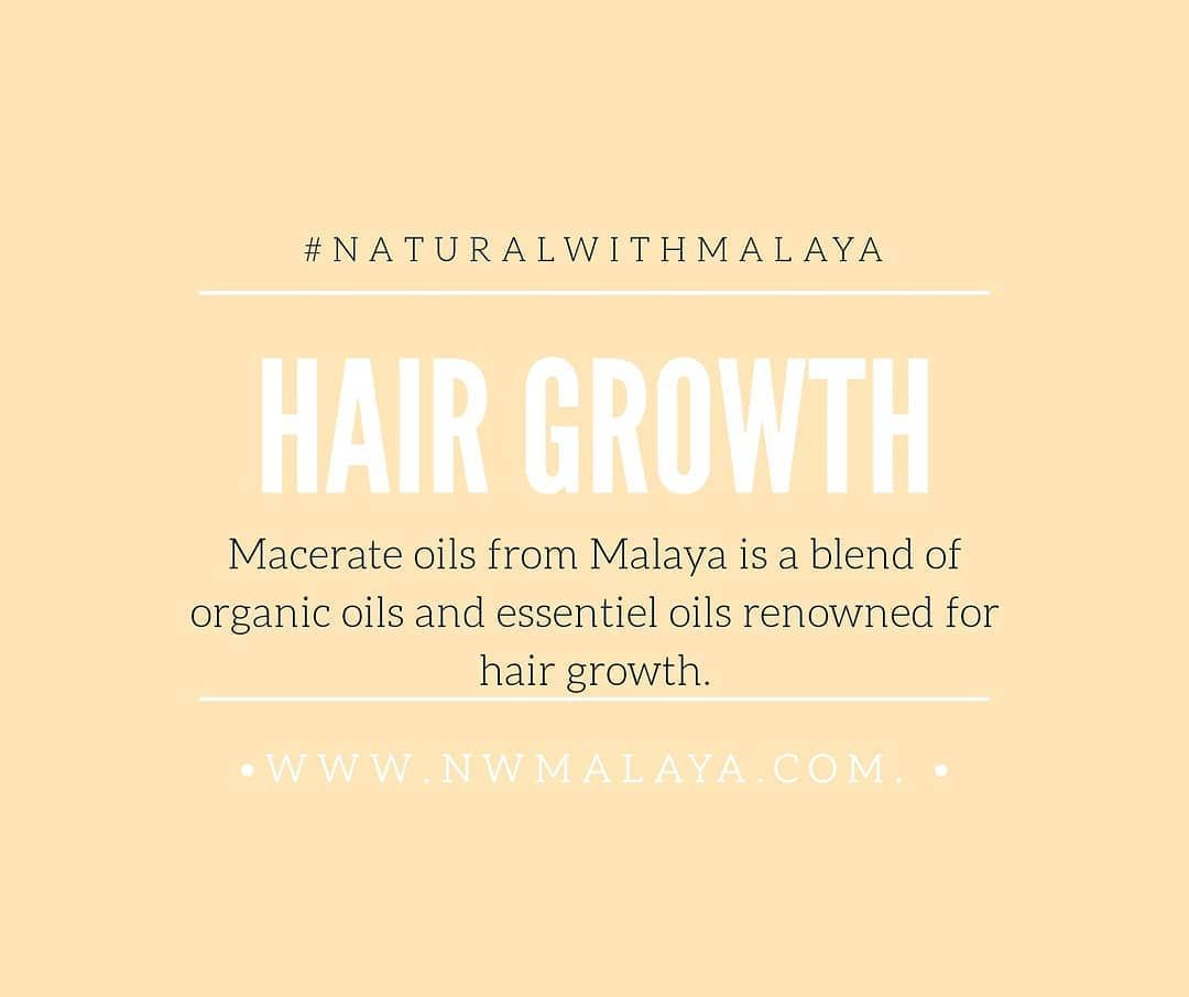 DOES YOUR HAIR GROWTH ? Macerate oils contains organic oils and essentiel oils renowned for hair growth like #fenugreekoil 😍. NXT WEEK 🔥 . . . TAGG a friend who need to heard this . . @nwmalaya .  #naturalwithmalaya#hairgrowth#growthnaturalhair#mtlbusiness#onlinebusiness#longhair#shorthair#kinkyhair#curlyhair#frizyhair#nappyhair#hairchallenge2020