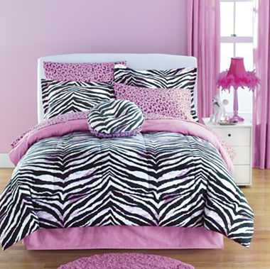 Jcp Home™ Zebra Complete Bedding Ensemble With Sheets Set Collection    Jcpenney