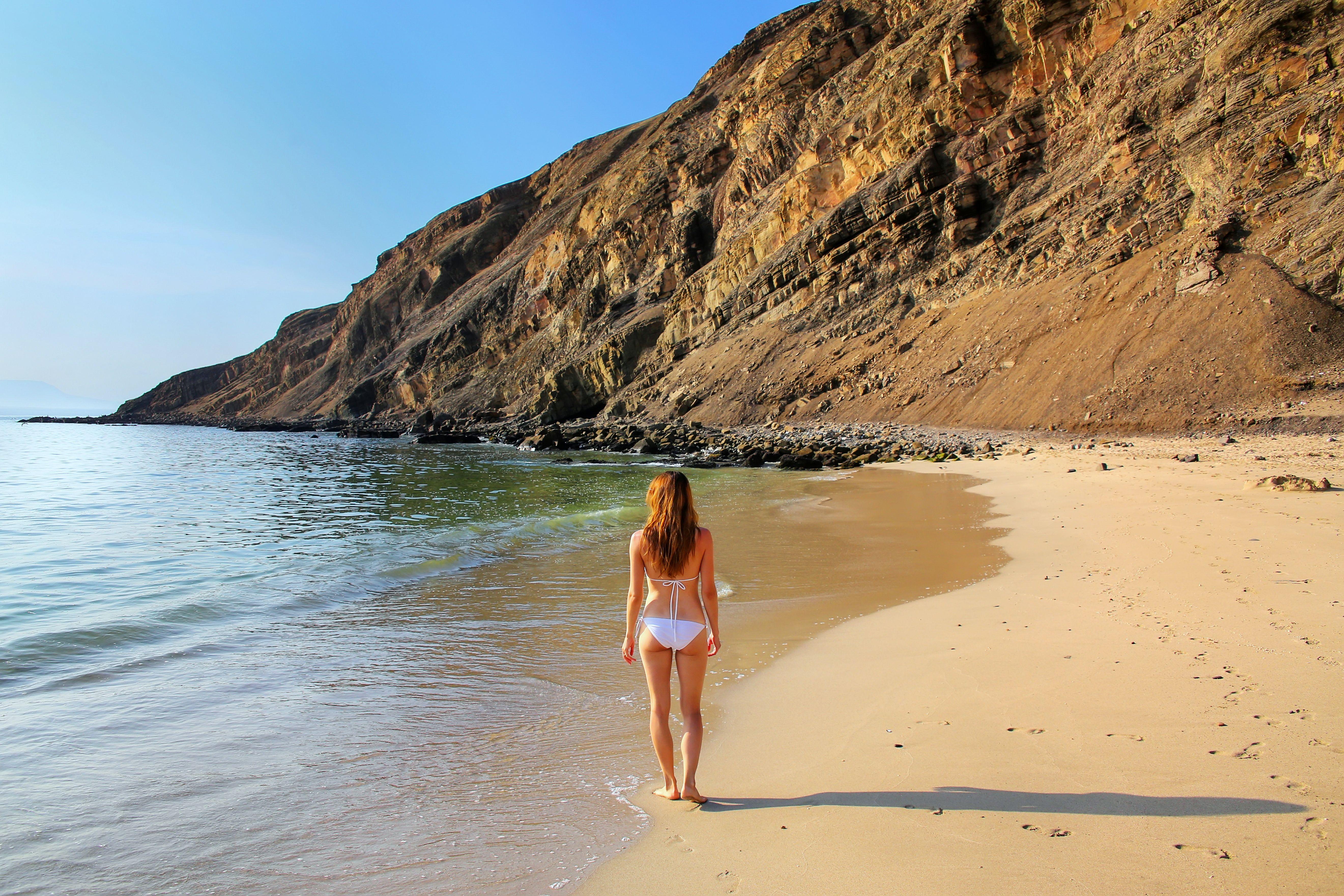 Una De Las Caracteristicas De Esta Playa Es Que Las Personas
