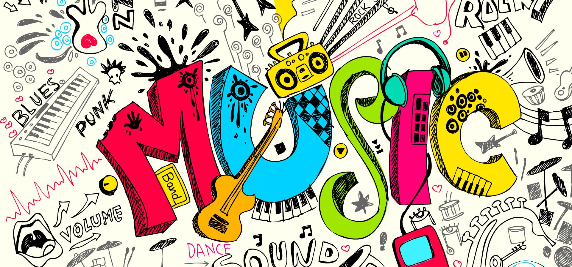 Painted Background Vector Material Trend Of Hip Hop Caderno De