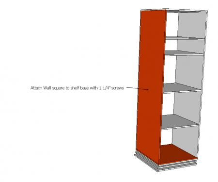 Rotating Teen Storage Unit - Want for the girls room! Joe's next project!