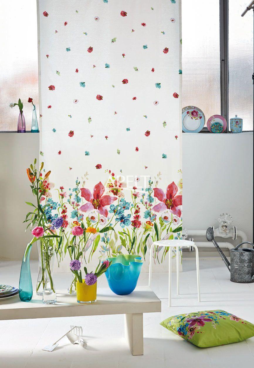 Apelt Design floral vorhang lilia apelt dekostoffe floral