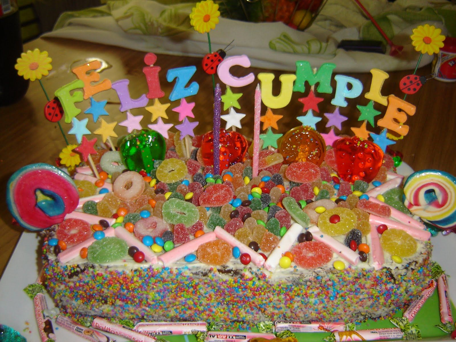 Candy cake for kids | Candy Birthday Cake | Pinterest | Tarjetas de ...