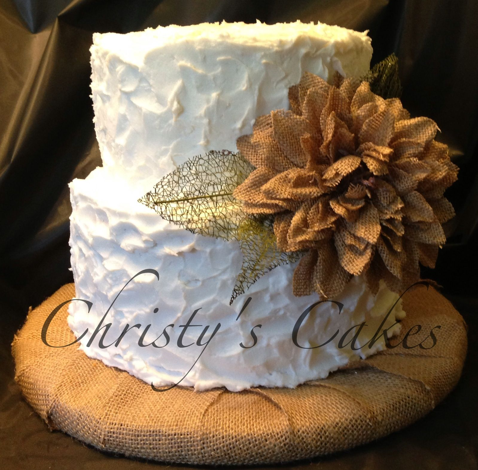 Fall Wedding Cake Toppers